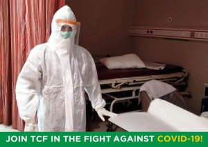 TCF Community Offers Support With Donations Of PPE