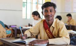 Rasool Baksh is back in school, thanks to YOU!